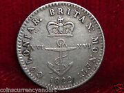 1822 Colonial Anchor Money Token British Colonies