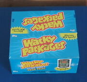 Wacky Packages Ans6 Sealed Box Foils Witb And Myo In Excellent Condition