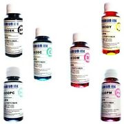 8 X 100ml Non Oem Compatible Dye Refill Ink For Epson Stylus Photo R1800 Printer