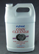 E-zest Coin Cleaner 1 Gallon Size Tarnish Remover For Silver Gold Andcopper Coins