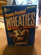 Honey Frosted Wheaties Jackie Robinson 50th Anniversary Box Factory Sealed New