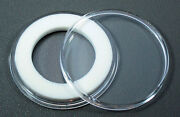 250 Air-tite 26mm White Ring Coin Holder Capsules For Presidential Or Sac Dollar