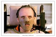 Anthony Hopkins Hannibal Lecter Signed Photo Print Autograph Poster