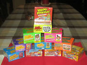 Wacky Packages Ans1 - Ans11 @@ 11 Sealed Hobby Boxes @@  Very Rare
