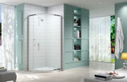 Merlyn 8 Series 1 Door Quadrant Shower Cubicle 900mm With Tray Option