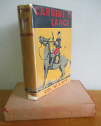 Carbine And Lance The Story Of Old Fort Sill By Col W S Nye, 1943 In Dj Illus