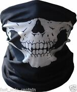 Skull Tubular Mask Motorcycle Biker Neck Call Of Duty Ghosts Ps3 Xbox One Ps4