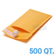 500 00 5x10and039and039 Kraft Bubble Padded Envelopes Mailers 5 X 10 From Theboxery