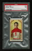 Psa 7 Bobby Rowe 1911 C55 Hockey Card 23 Only 3 Cards Graded Higher Centered