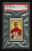 Psa 7 Odie Cleghorn 1911 C55 Hockey Card 25 Only 3 Cards Graded Higher