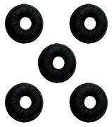 Lot Of 5 Jabra Gn Netcom Gn2100 Gn9120 And Gn9125 Headset Leatherette Ear Cushions