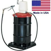 Commercial Air Operated Grease Pump - 6 Cfm - 1/4 Inlet And Outlet - 7500 Max Psi