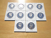 1990 1991 - 1993 1994 1995 1996 1997 1998 1999 S Proof Kennedy Half 10 Coin Set