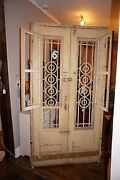 Salvaged Egyptian Doors Imported From Africa W Iron Fretwork