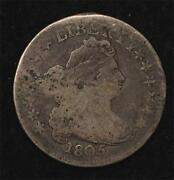 1805 Draped Bust Dime Clear Date And Reverse Legend, Perfect Natural Color