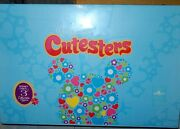 Disney Vinylmation 3 Cutesters Sealed Case Set 24 Unopened Boxes With Chaser