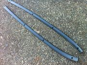 1967 67 Ford Mustang Gt Shelby Dash Pad Retaining Trim Molding Set Used Oem