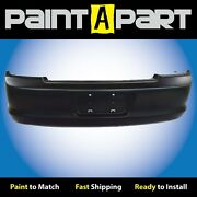 Fits 1998 1999 2000 Honda Accord Coupe Rear Bumper Cover Premium Painted