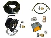 Sewer Jetter Cleaner Kit - Foot Valve, 150' X 1/4 Hose, Reel And Nozzles