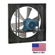 20 Exhaust Fan - Explosion Proof - 1 Hp - 115/230v - 6900 Cfm - Commercial
