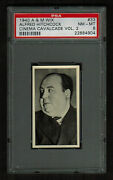 Psa 8 Alfred Hitchcock 1940 Wix Cinema Cavalcade Card 33 First Card - Rookie
