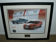 Carroll Shelby Gt500 Dealer Edition Signed Numbered Vin Plate Photographic Print
