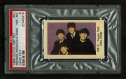 Psa 8 The Beatles 1965 Dutch Gum Hb Set Card 91 The Highest Ever Graded 1/1