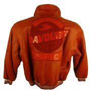 Davoucci Genuine Leather Jacket F40 Red Limited Edition