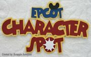 Disney Epcot Character Spot - Premade Paper Piecing Scrapbook Page Title Ssffdeb