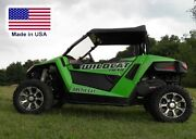 Partial Enclosure For Arctic Cat Wildcat Trail - Hard Windshield - Roof - Rear