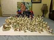 Precious Moments Large Lot Of 82 Pieces