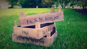 Vintage Wooden Crates 15 Available