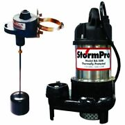 Ion 1/2 Hp Cast Iron Stainless Steel Sump Pump W/ Adjustable Vertical Float ...