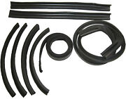 1969-1970 Dodge Chrysler Plymouth And039cand039 Body Convertible Top Weatherstrip Seal Set