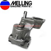 New Melling High Volume Oil Pump 1993-2002 Sb Chevy 350 305 265 With 3/4 Inlet