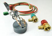 Smith Little Torch And 5tips + Regulators And Magnetic Stand Jewelry Soldering Usa