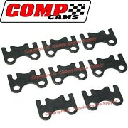 New Set Comp Cams Guide Plates Chevy Sb 283 327 350 400 Flat Style 5/16 Pushrod