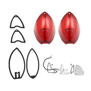 1948 1949 1950 Cadillac See Details Tail Light Lens With Gasket Set 6 Pieces