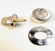 Common Sense Single Stud W/ 7 Screw And Eyelet And Clinch Plate 10 Pc.