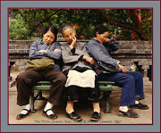 Master Photographer Michael Seewaldand039s And039the Three Graces China And03987- 8/10 Signed