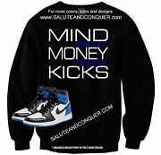 Jordan 1s Fragments Matching Tshirts And Sweaters Made By Salute And Conquer