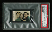 Psa 8 The Marx Brothers On 1935 De Beukelaer Card 795 Highest Ever Graded