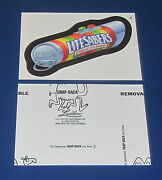 Wacky Packages Ans11 Black Ludlow 8 Lite Sabers @@ Rare @@