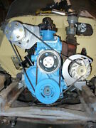 10042 A/c Air Conditioning And Alternator 1955-62 235 261 Chevy With Balancer Etc.