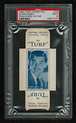 Psa 9 Clark Gable 1947 Turf Cigarette Card 15 Complete With Tabs None Higher