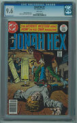 Jonah Hex 1 Cgc 9.6 White Pages Bronze Age