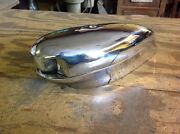 Vintage Boat Bow Light Clear Lens 50and039s Rechromed March 15 Rewired