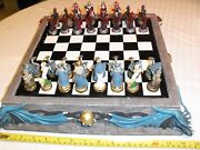 Dragon Chess Set Board And Pieces Nib Great Gift