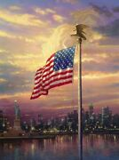 Light Of Freedom Re Cnv 24x18 Thomas Kinkadealso Get A Free Tk Limited Edition