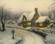 Olde Porter Field Gift Shoppe Pp Cnv 16x20 Thomas Kinkadefree Special Included
